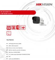 Camera HD-TVI thân trụ HikVision DS-2CE16H0T-ITF - 5MP; hồng ngoại 20m