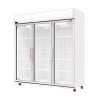 Tủ mát 3 cánh kính dạng đứng Sanden Intercool 1500 lít OEM-1805, 1800W x 680D x 2050H,