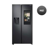 Tủ lạnh SBS Samsung 616L RS64T5F01B4/SV(2 cửa,Inverter,Family Hub™,Màn Hình Family Board, View Inside,Bluetooth,Đen carbon)