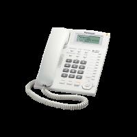 Điện thoại bàn Panasonic KX-TS880 - mầu trắng, danh bạ lưu 50 số, loa ngoài 2 chiều, đèn báo chờ tin nhắn