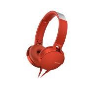 Tai nghe Sony EXTRA BASS MDR-XB550AP - màu đỏ - màng loa 30mm loại vòm; dây 1.2m