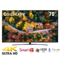 TV LG 70-inch 70UP7800PTB ( Smart,4K Upscaler, VoiceSeach, Google Assistant, Web OS 5.0 )