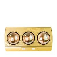 Đèn sưởi nhà tắm 3 bóng Kohn KP03G, 825W