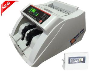 Máy đếm tiền Fengzin TH620- Máy đứng- đếm theo mẻ & tách tờ - Chức năng xóa và công dồn , Có màn hình rời kéo dài