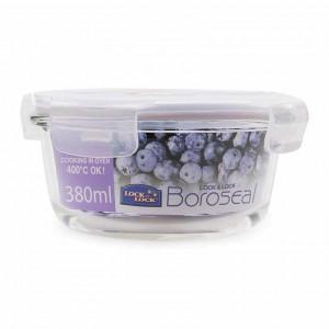 Hộp bảo quản thực phẩm Lock & Lock tròn LLG821 380ml ; Sz : 10 x 6.5cm
