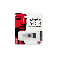 USB Kingston 64GB DTSWIVL - USB 3.0; nắp xoay