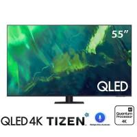 TV Samsung 55-inch QLED 4K Q70A - Tizen OS; Bộ xử lý Quantum 4K,Dual LED,Multiple Voice Assistants