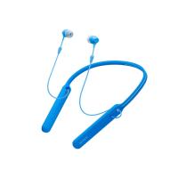 Tai nghe Bluetooth Sony WI-C400 In-ear - màu xanh dương - màng loa 9mm; có rung; BT+NFC; 35g