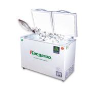 Tủ đông mát Kangaroo 266L kháng khuẩn KG266NC2 (2 ngăn 2 cánh - Block LG), xuất xứ: Việt Nam