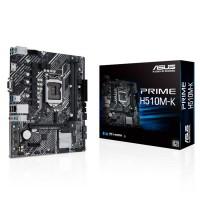 Bảng mạch chủ Asus Prime H510M-K : Intel H510 SK1200/2xDDR4 2133/1*PCI-e x 16+2*PCI-e/4xSATA 6Gb/s/M.2 /LAN1000/D-sub, HDMI