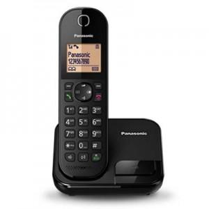 """Điện thoại bàn ko dây Panasonic KX-TGC410 Black, (1 máy mẹ + 5 option), led 1.6"""",  lưu 50 số DT"""