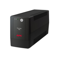 UPS APC BACK-UPS 650VA 325W//7.0AH_BATT/230V/1IN/3OUT/AVR/BLACK