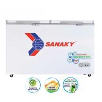 Tủ đông Sanaky 270L inverter VH-3699A3 (1 ngăn đông,2 cánh,Dàn đồng, R600a,1215*620*845)