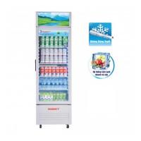 Tủ mát đứng Sanaky 200L VH-258KL(Dàn lạnh:Nhôm,R600a,Cánh kính Low-E mở,Đèn led)