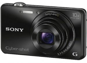 Máy ảnh KTS Sony WX220 - Black - Độ phân giải 18.2 Mpx; Zoom 10X; LCD 2.7; 121g