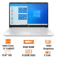 MTXT HP 15S-FQ2558TU-46M26PA Intel Core i7-1165G7/8GB/512GB SSD/15.6 HD/Win10H/Silver