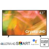 TV Samsung 43-inch 4K AU8000 2021 - Tizen; Voice Search; PQI 2100; Loa 2.0 20W; BT5.2; 135W