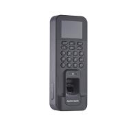 Máy chấm công IP HikVision DS-K1T804EF - 3000 vân tay; tốc độ <1s; đọc thẻ EM; thoát hiểm + cảm biến cửa + báo động