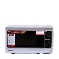 Lò vi sóng Toshiba ER-SGM20(S1)VN, có nướng, 800W/1000W, Vỏ màu bạc sang trọng