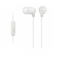Tai nghe Sony MDR-EX15AP In-Ear - màu trắng - màng loa 9mm; 8-22.0000Hz; dây 1.2m; 3g