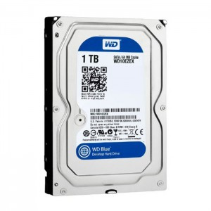 "Ổ cứng gắn trong WD Blue 1TB 3.5"" SATA3 6Gbps/7200Rpm/64MB Cache (WD10EZEX)"