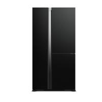 Tủ lạnh SBS Hitachi 590L R-M800PGV0-GBK ( màu kính đen, 3 cánh, cảm ứng, kháng khuẩn khử mùi  Triple Powe, CSPF: 1.81)