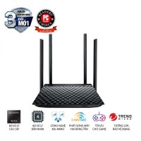 Bộ phát tín hiệu không dây Asus ASUS RT-AC1300UHP (Dũng Sĩ Xuyên Tường) AC1300 MU-MIMO, 2 băng tần- 50 user/4 anten