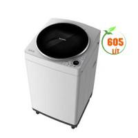 Máy giặt Sharp 9.0kg lồng đứng ES-W90PV-H(Lồng giặt Pump-up,Vỏ máy:Kim loại - Màu Xám Sáng)