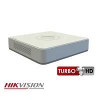 Đầu ghi hình HD-TVI 04 kênh HikVision DS-7104HUHI-K1 – 5MP; Turbo HD 4.0; 1 khe HDD