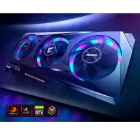 VGA Gigabyte GV-N3060AORUSE-12GD – Nvidia Geforce RTX  3060/12GB/GDDR6 192bit/Cuda Core 3584/MC 15000Mhz/HDMI*2/DP*2