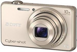 Máy ảnh KTS Sony WX220 - Yellow - Độ phân giải 18.2 Mpx; Zoom 10X; LCD 2.7; 121g