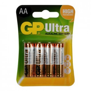 Pin tiểu GP Ultra Alkaline GP15AUMB-2U4 - Size AA; Vỉ 4 viên; Made in China