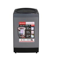 Máy giặt lồng đứng Sharp 9,5kg ES-W95HV-S( 8 CT giặt, lồng giặt Eco-Drum không lỗ,vỏ thép màu titan )