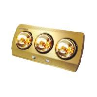 Đèn sưởi nhà tắm 3 bóng Kungfu, 825W