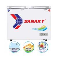 Tủ đông Sanaky 208L dàn đồng VH-2599A2KD(Cánh tủ:Kính cường lực)