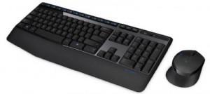 Bộ bàn phím + Chuột vi tính không dây Logitech MK345 , mầu đen