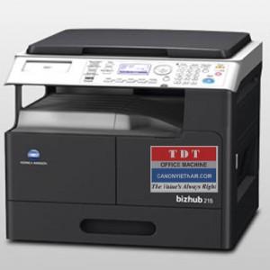 Máy photocopy đa chức năng Konica Minolta BIZHUB215 -DF-AD-PF-NC,