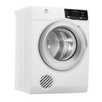Máy sấy quần áo Electrolux 8 KG EDV805JQWA(Sấy thông hơi;đảo chiều;Thanh nhiệt sấy:1500W,Động cơ:150W,Thân:trắng,Cửa màu bạc)