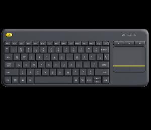 Bàn phím cảm ứng không dây Logitech K400 Plus : cho Smart TV