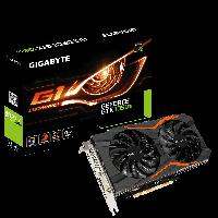 GIGABYTE™ GV-N105TG1 GAMING-4GD - Geforce GTX 1050Ti GPU