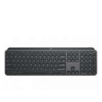 Bàn phím không dây Wireles, Bluetooth Logitech MX Keys (Đen) - Unifying receiver, 3 devices, rechargeable