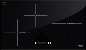 Bếp điện từ đôi Steiger STG-IDK310, CS 6,7 KW, Mặt kính Schott Cerant, xuất xứ CHLB Đức