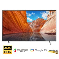 TV Sony 65-inch 4K X80J - Android 10; LED nền; XR200; TRILUMINOS PRO; BT4.2; Loa 2.0 20W;
