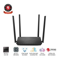 Wireless Router Asus RT-AC1500 - AC1500 MU-MIMO 4-antena; 2.4GHz (600Mbps) + 5GHz (867Mbps); 4 Gigabit LAN; USB 2.0 chia sẻ file