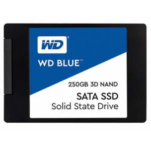 Ổ cứng thể rắn SSD WD Blue 250GB WDS250G2B0A - 2.5 inches, TLC, R/W 550/525, SATA3 6Gbps