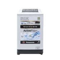 Máy giặt Panasonic 10,0kg cửa trên NA-F100A4HRV(700v/p,Hệ thống ActiveFoam,Mâm giặt 8 cánh,Màu:xs nhạt)