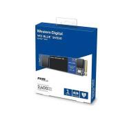 SSD WD 1TB Blue SN550 - M.2 2280 PCIe NVME Gen 3 x4; R/W 2400/1950MBps; TBW 300TB (WDS100T2B0C)