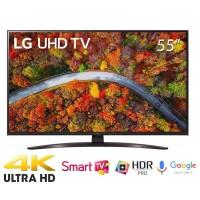 TV LG 55-inch 4K 55UP8100PTB( 4K UHD, Smart. Voiice Seach,WEBOS,BXL Lõi tứ 4K.Loa 20W,1235 x 787 x 260mm)