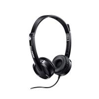 Tai nghe chụp đầu có dây Rapoo H120 - màu đen, USB, mic cần