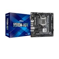 Bảng mạnh chủ Asrock H510M-HDV - Intel H510 SK1200/2*DDR4 3200/1*PCI-E x16/2*PCI-E x1/4*SATA3/ HDMI, VGA, DVI